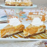 Pumpkin Spiced Swirled Cheesecake