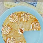 Pumpkin Spiced Swirled Cheesecake