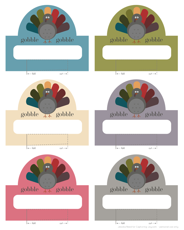 This is a photo of Printable Thanksgiving Name Cards in christmas