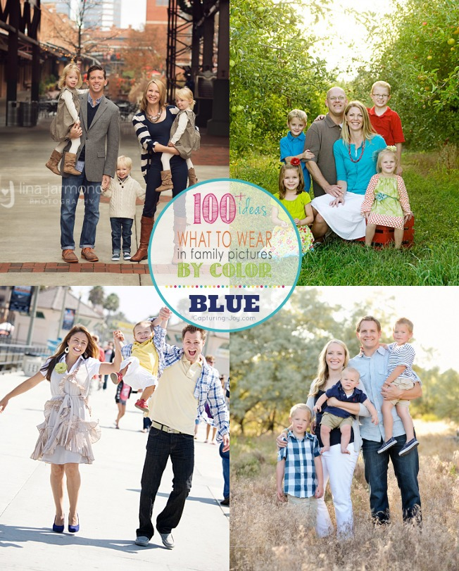 How to find clothes for family photos