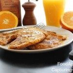 Orange Croissant French Toast - great idea for those day-old croissants!