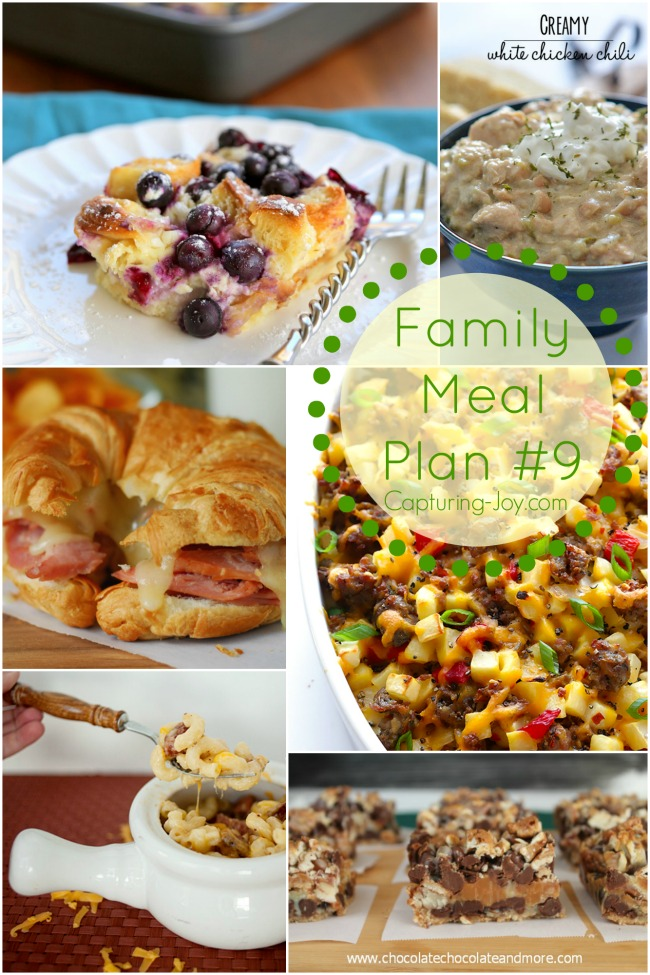 Capturing-Joy.com Need help planning family dinners? Let me do the guess work for you with my family meal plans!
