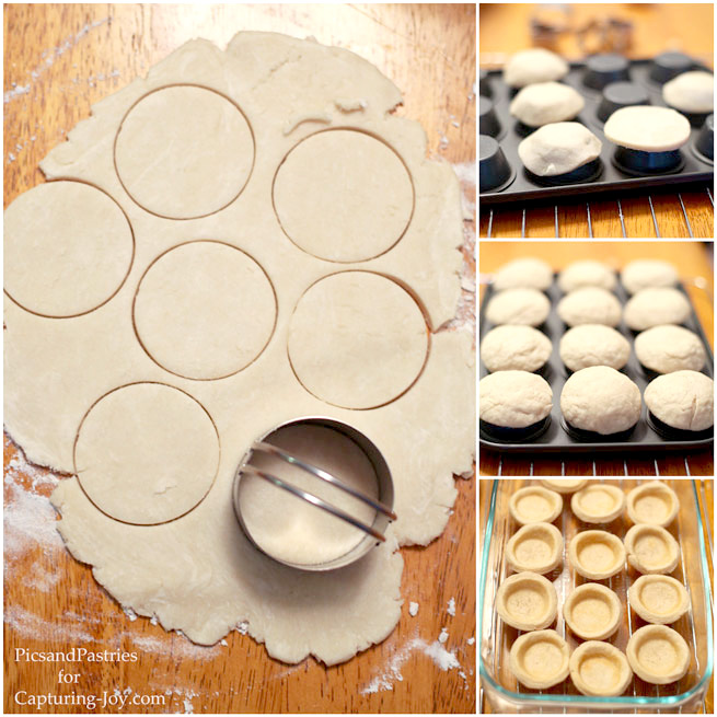 How to make a mini pie crust