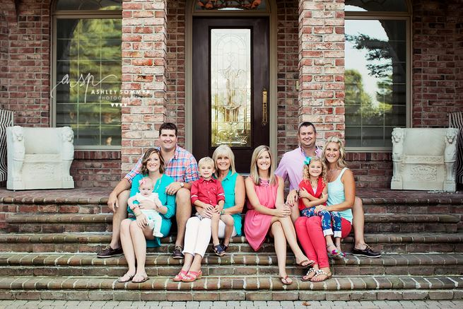 Capturing Joy What To Wear In Family Pictures By COLOR Pink