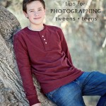 tips for photographinng teens and tweens by Salt Lake City Utah photographer Carrie Owens