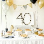 40th surprise birthday party ideas