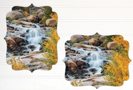 Black River Imaging metal shaped prints