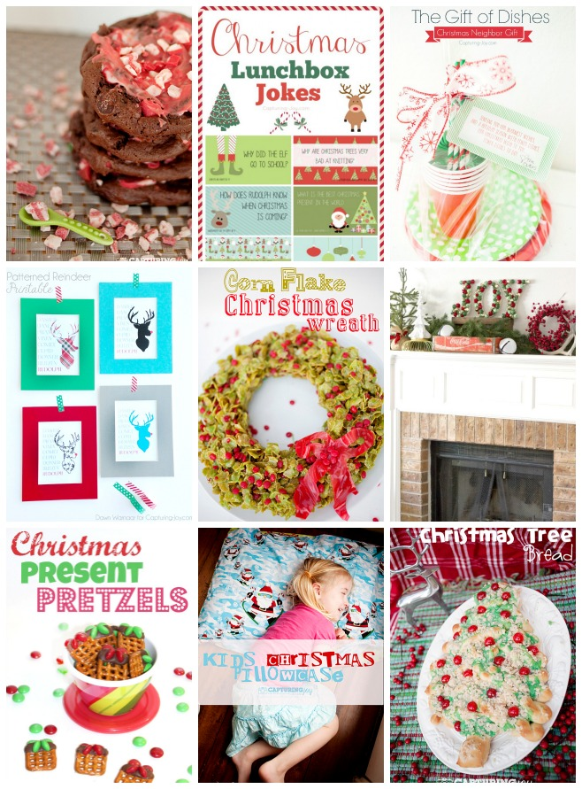 recipes and gifts for Christmas