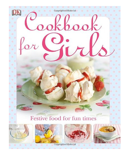 Cookbook for girls gift idea
