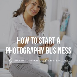 How to Start a Photobraphy Business E-book