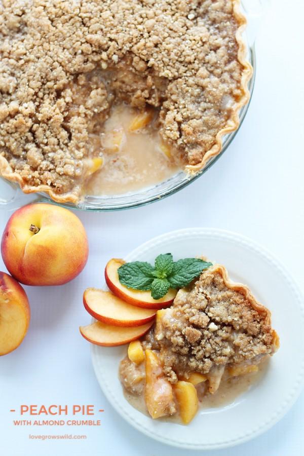 Thanksgiving Dinner Checklist Printable-Peach Pie Recipes| Capturing-Joy.com