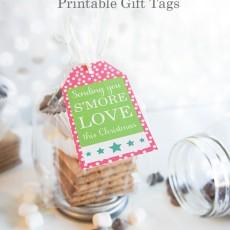 Smore Love for Christmas Printable Gift Tags