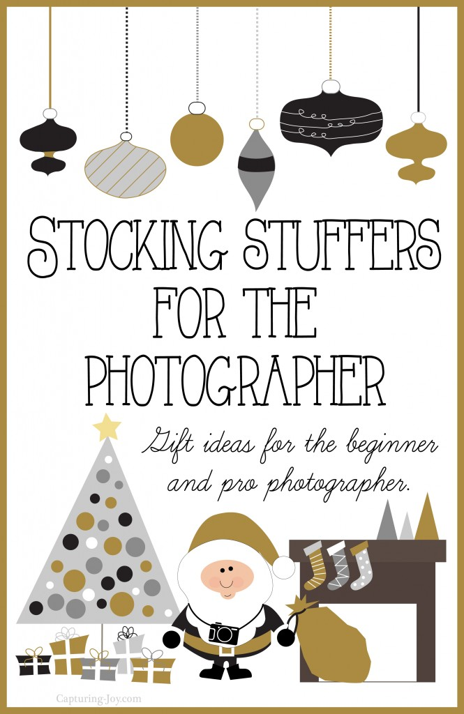 Gift list for photographers