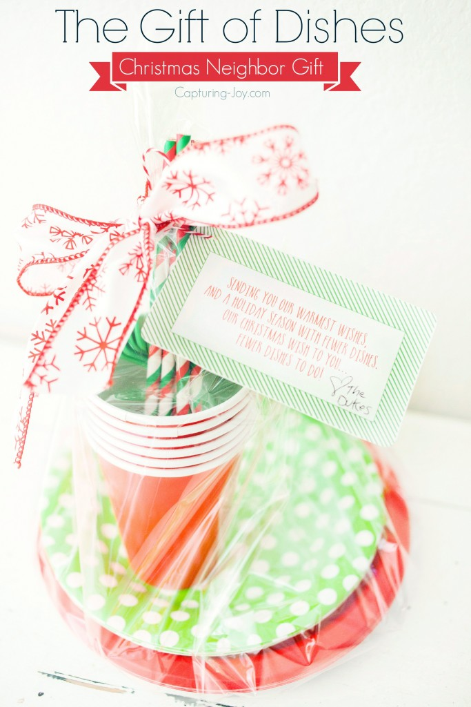 Christmas neighbor gift idea