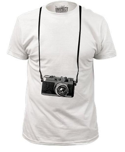 tee shirt camera gift
