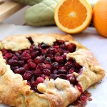 Easy and Beautiful Cranberry Orange Ginger Galette Recipe