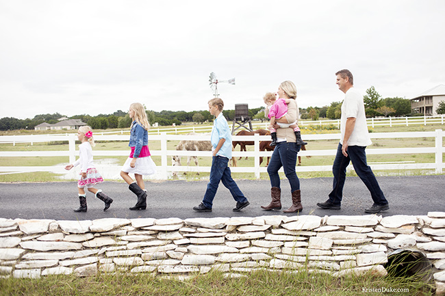 family pictures walking