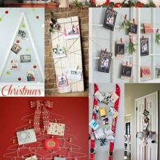 15 Creative Ways to Display Holiday Cards| Capturing-Joy.com