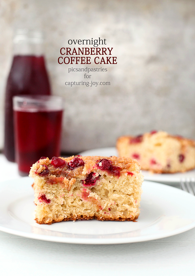 Overnight Cranberry Coffee Cake- A delicious way to get breakfast on ...