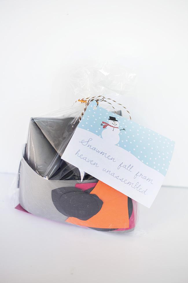 snowman gift idea