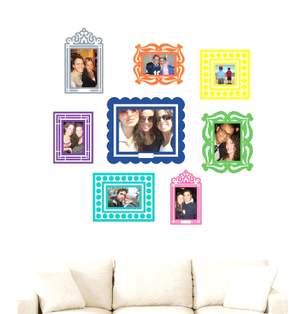 sticker frames gift idea for pre teen tween girl