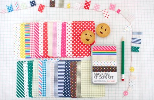 Washi Stickers Craft Idea