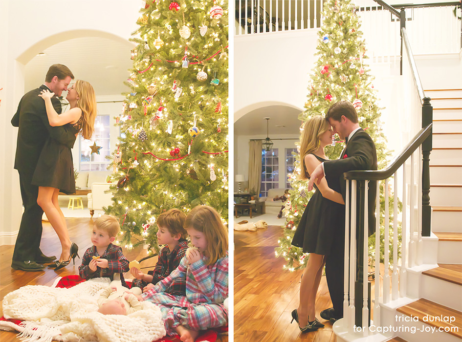 Family Christmas Pictures At Home