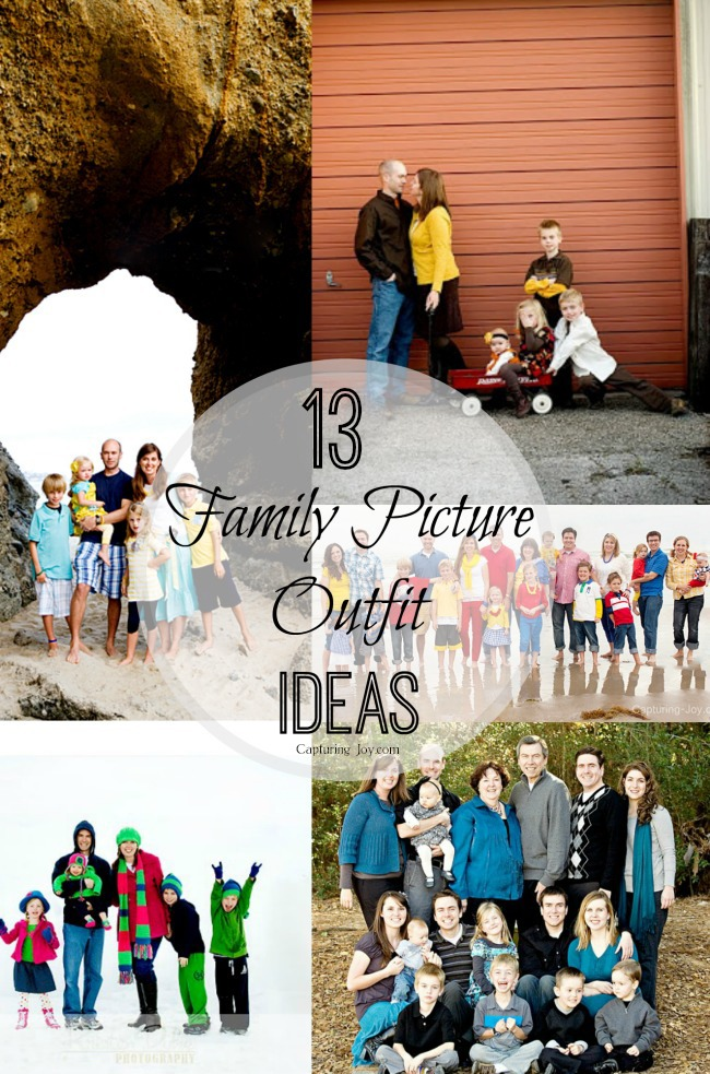 What to wear in family pictures