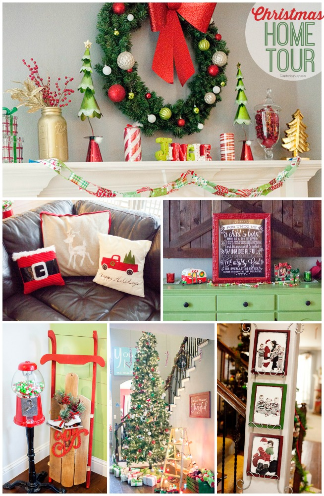 Christmas Home Tour Capturing Joy