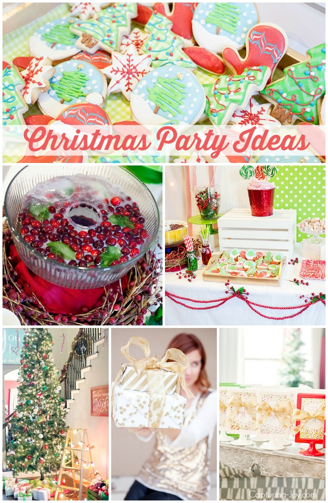 Christmas Party Ideas for ladies