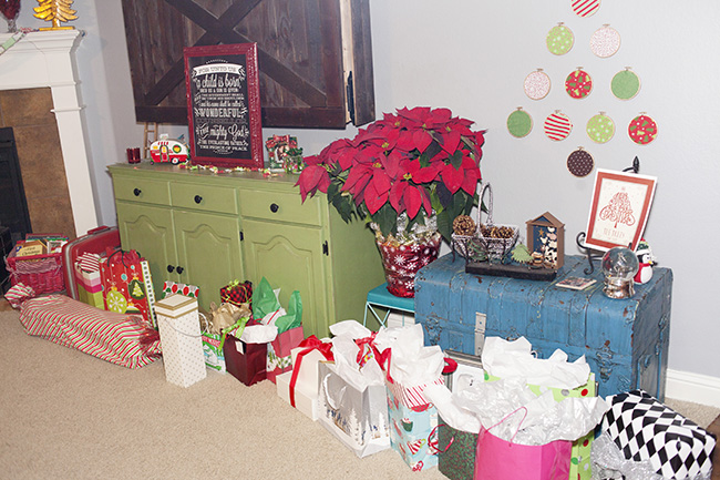 Christmas gift exchange party