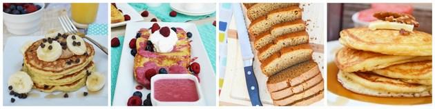 Gluten Free Breakfast Collage Kristen Duke