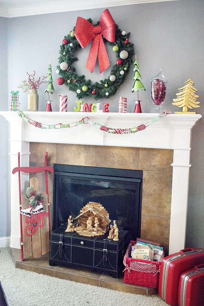 Jingle All the Way Mantel