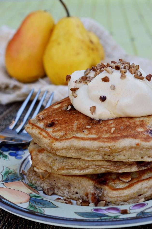 Pear Pancakes Kristen Duke