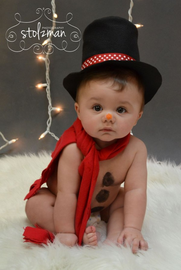 Elegant Christmas Pictures With Babies