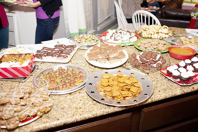 Christmas party dessert ideas