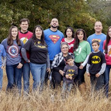 family in super heroes