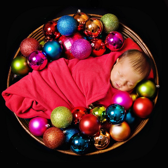 Christmas Pictures with Babies