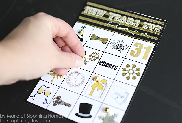 New Years Eve Bingo Game Printable