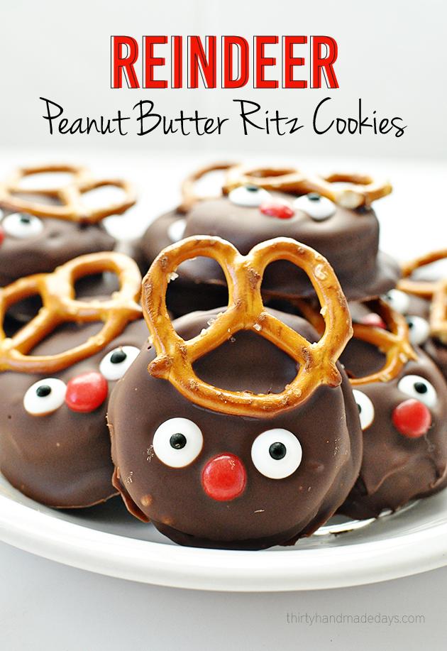 ritz reindeer cookies