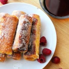 Stuffed French Toast Sticks Recipe. Step-by-Step Instructions @foodapparel for @kristenduke