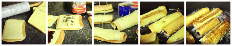 Stuffed French Toast Sticks - Step-by-Step Instructions