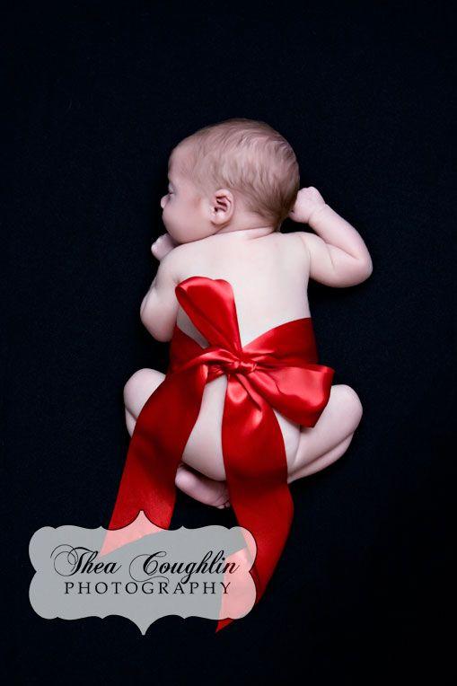 Photos de Noël avec des bébés