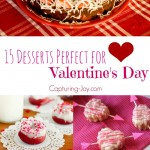 15 Desserts Perfect for Valentine's Day! Capturing-Joy.com
