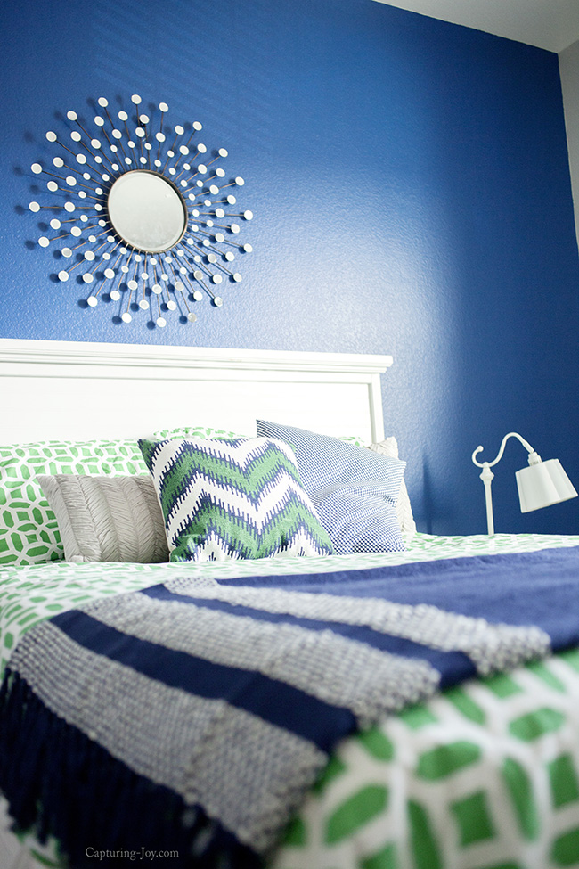 Navy and gray paint colors
