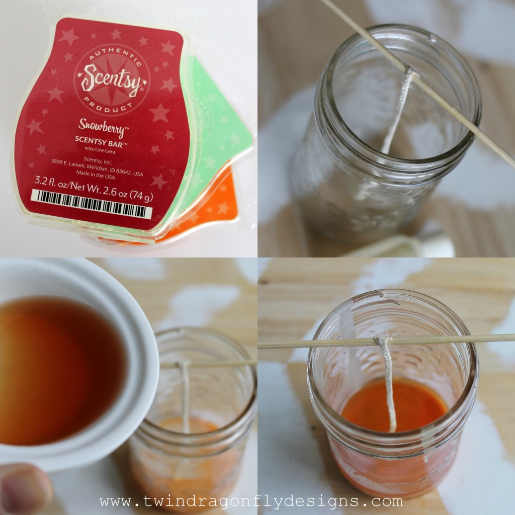 DIY Scentsy Candle Collage