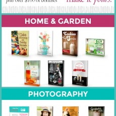 DIY e-book Bundle Sale