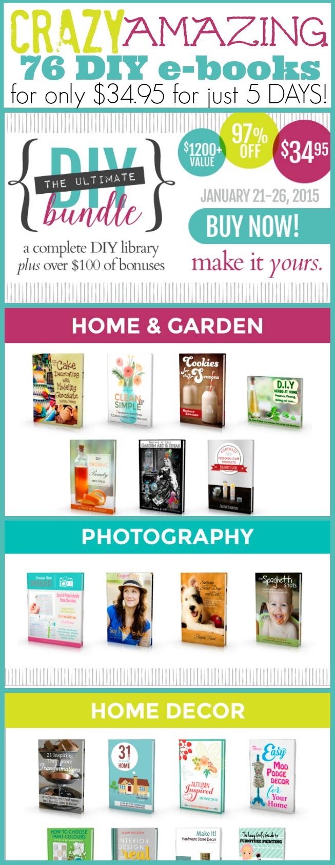 DIY e-book Bundle Sale