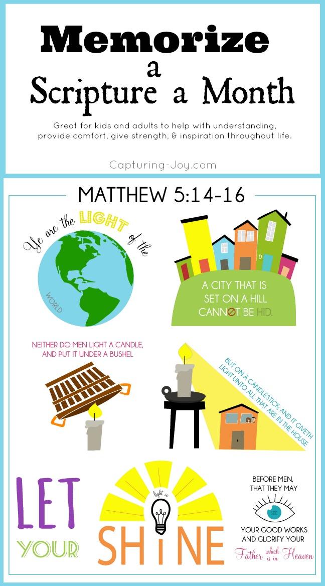 Matthew 5:14-16 bible verse