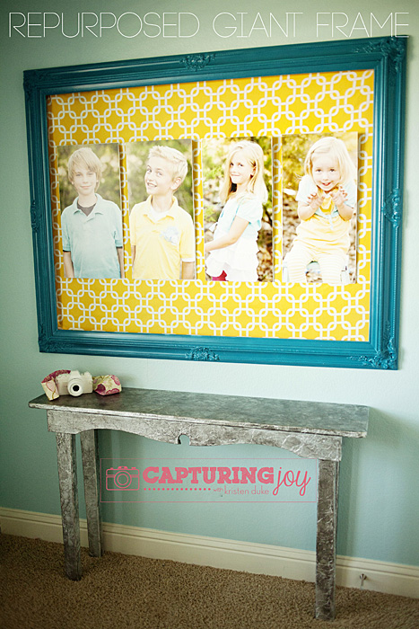 Repurposed giant frame tutorial